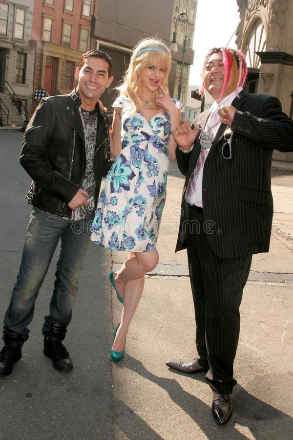 Brian Anthony med Natalie Reid royaltyfri fotografi