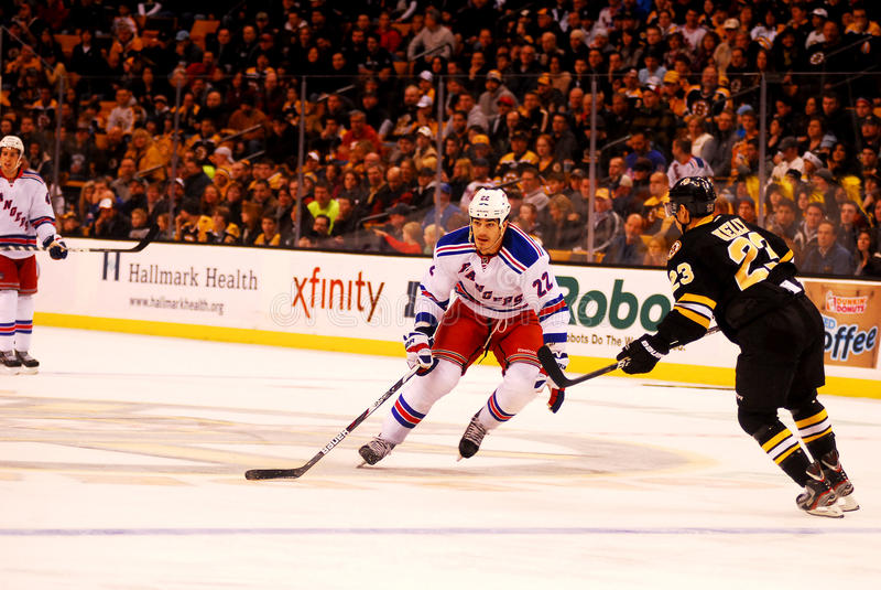 Brian Boyle New York Rangers Editorial Stock Photo
