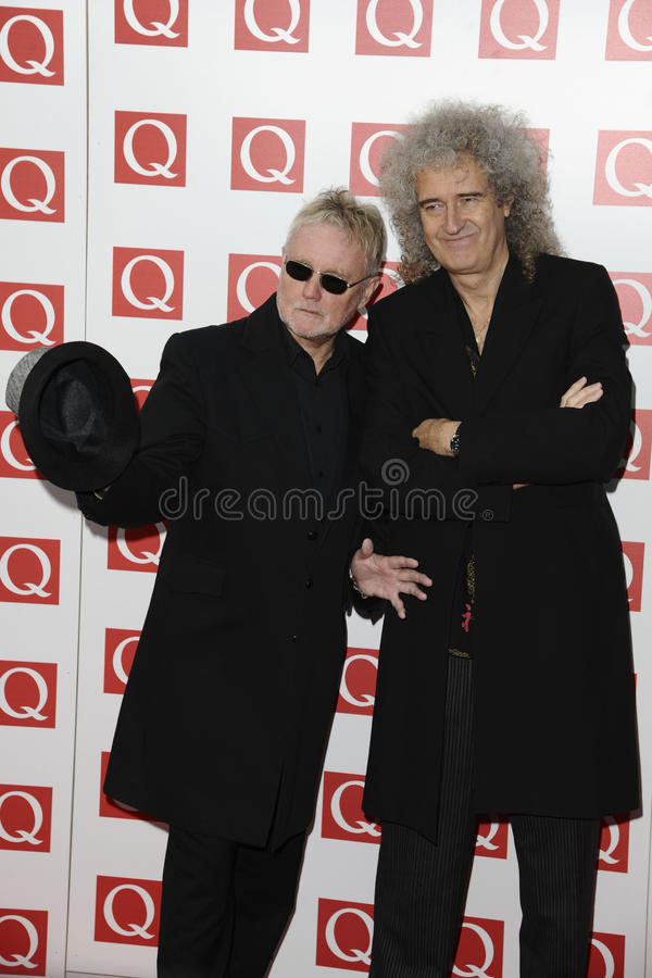 Brian peut, Roger Taylor image stock