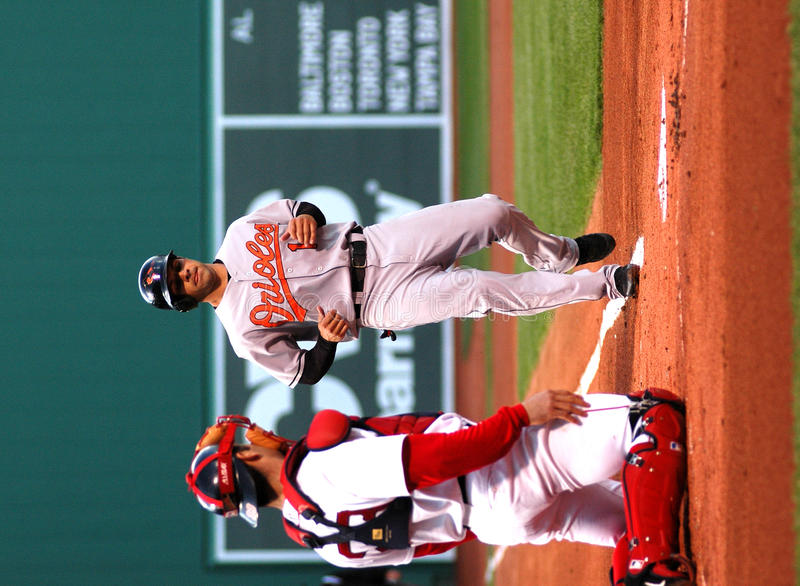Brian Roberts Baltimore Orioles. Baltimore Orioles second baseman, Brian Roberts royalty free stock images