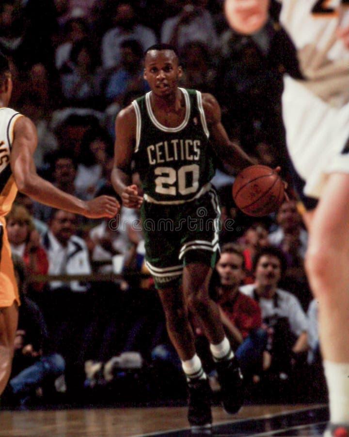 Brian Shaw, Boston Celtics fotografia stock libera da diritti