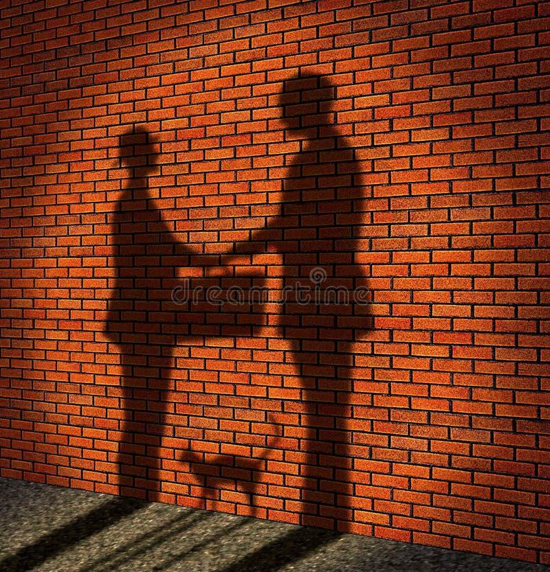 Bribe royalty free illustration
