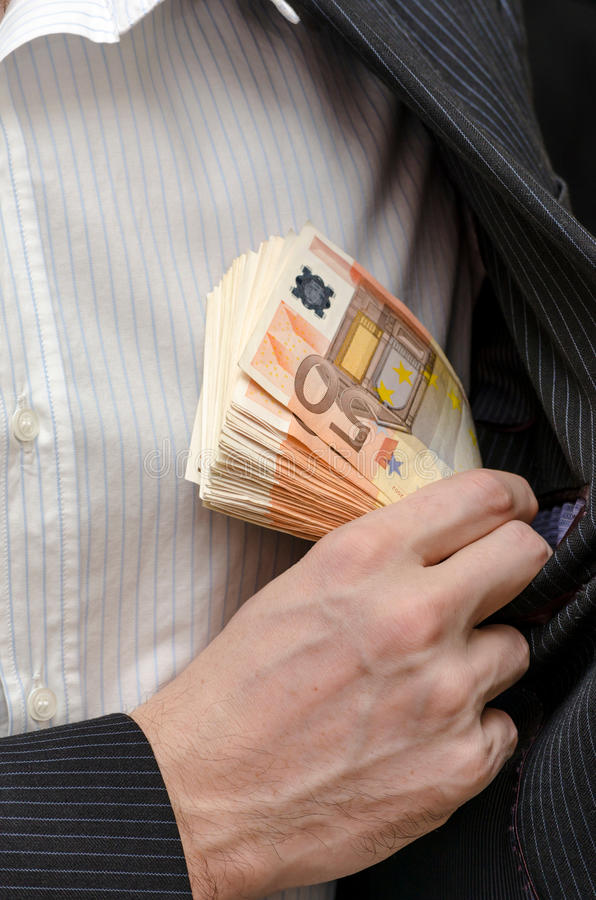 Download Bribery stock photo. Image of euro, male, business, hand - 28273538