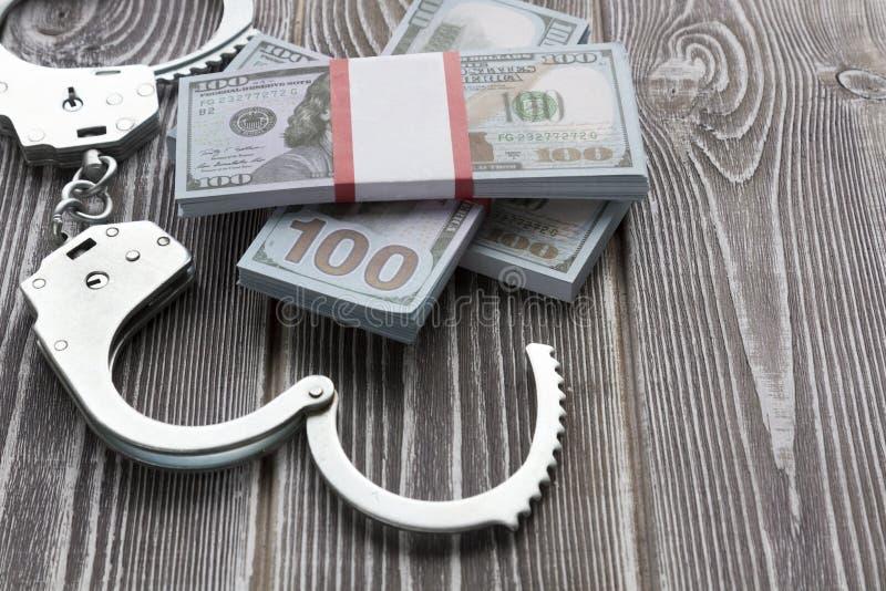 Bribery, violation of law, corruption, stock image