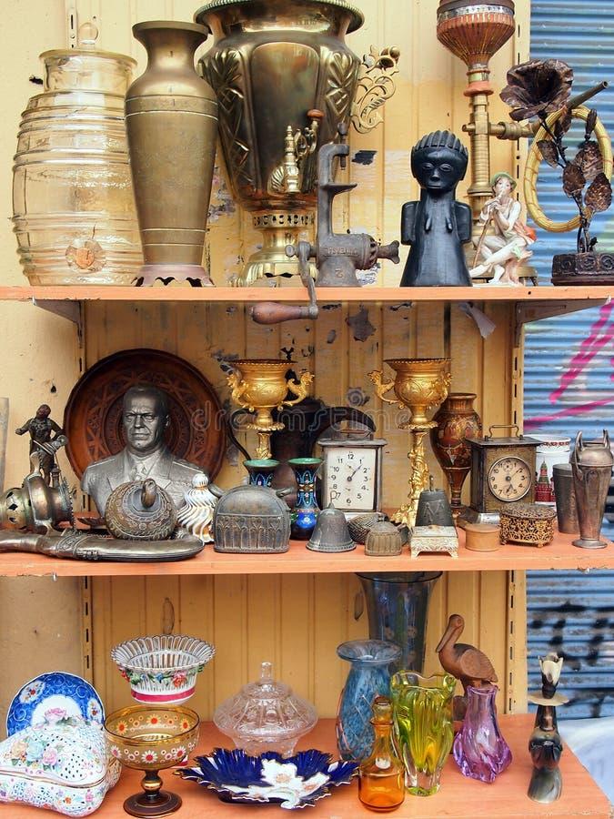 Bric a Brac, Athens Flea Market royalty free stock photos