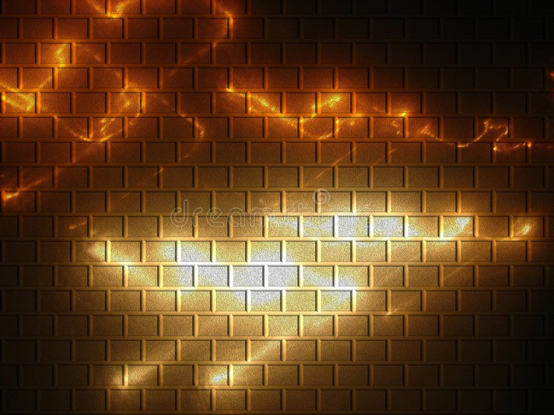 Brick Background royalty free illustration