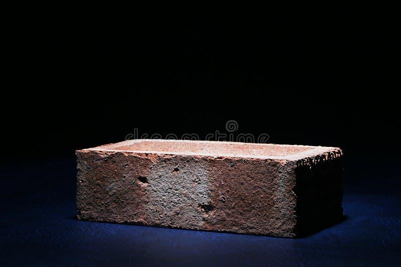 Brick on Black royalty free stock photo