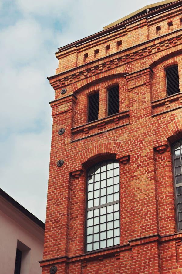 Brick building stock images