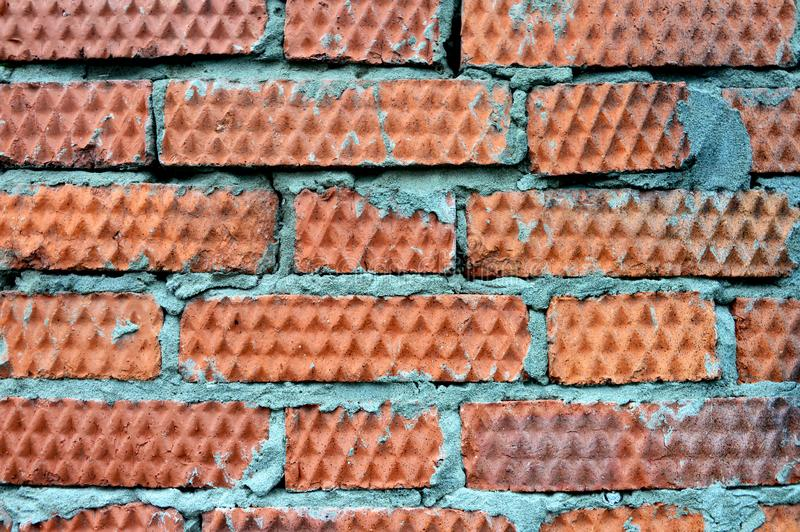 Dark red brick wall texture royalty free stock photos