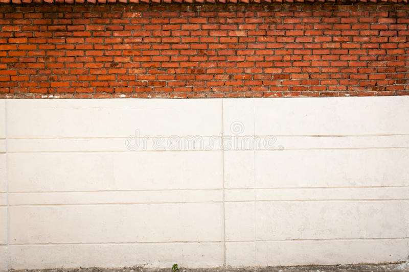 Brick and Concrete stock photography