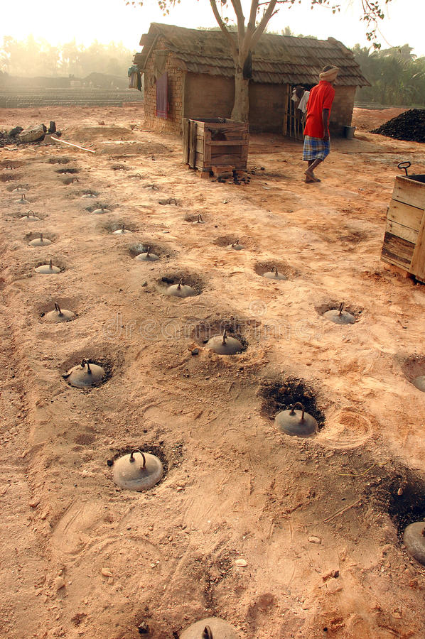 Download Brick Field In West Bengal-India Editorial Photography - Image: 17812177