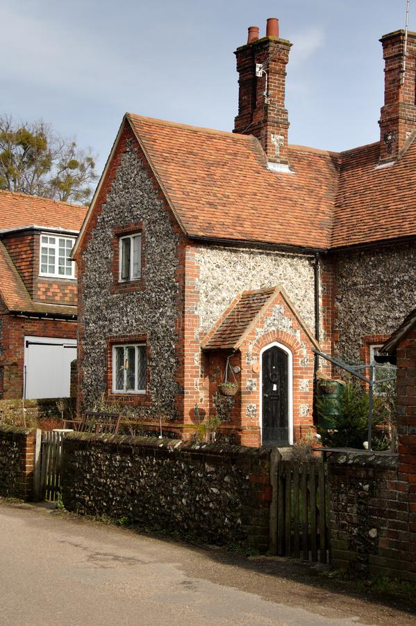 Brick and Flint Cottage