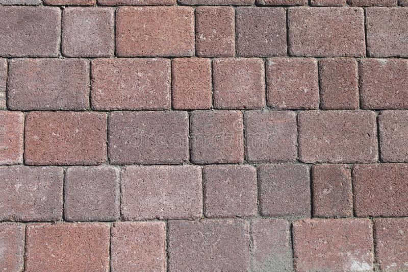 Brick floor, cement block. Background and texture. royalty free stock photo