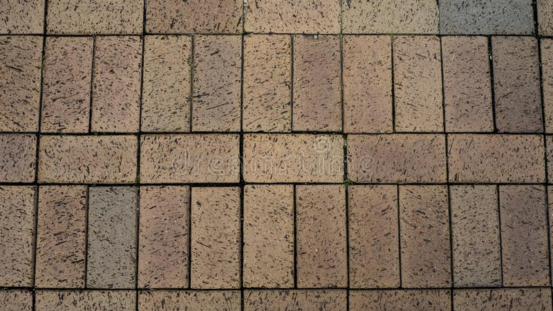 Brick floor photo by using OLYMPUS DIGITAL CAMERA royalty free stock images