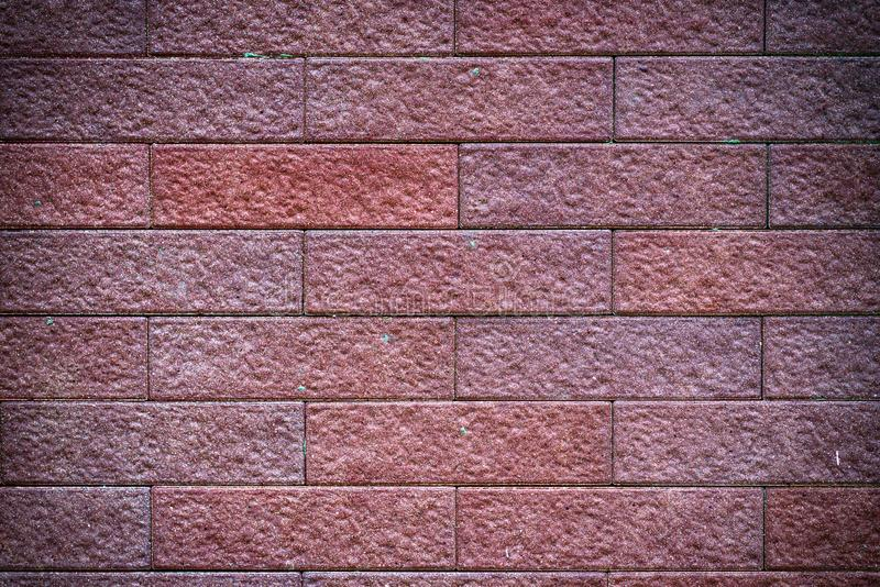 The brick that formed the wall. Is used as a text background royalty free stock photos