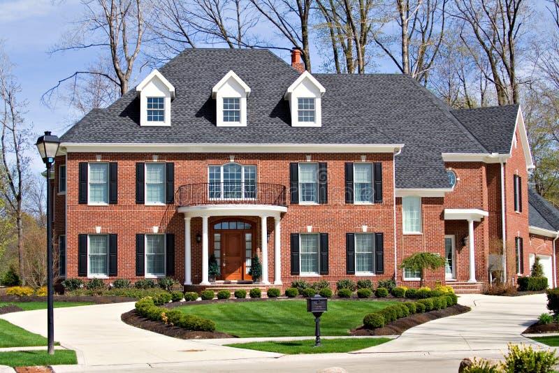 brick house στοκ εικόνα