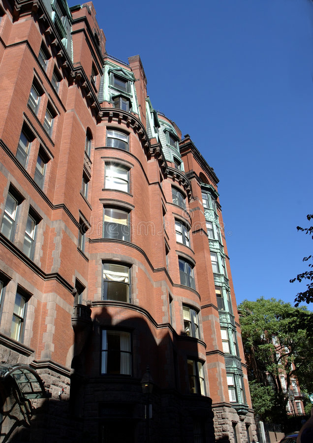 Download Brick houses 1 stock image. Image of neighborhood, federal - 236285