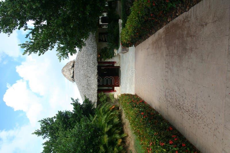 Download Brick Pathway stock image. Image of roof, resort, manicured - 450341