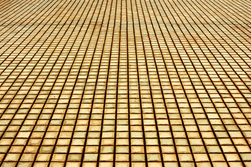 Brick Pavement` Royalty Free Stock Image