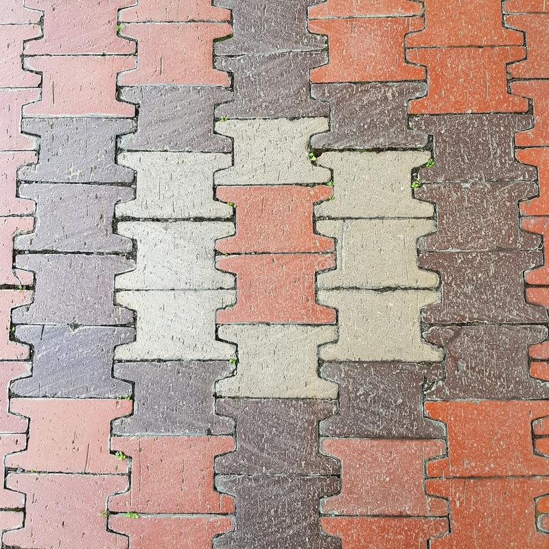 Brick pavement and floor exterior. Pavement, home, house, flooring, tiles, walkway, pathway, textured, wallpaper, desktop, backdrop, full-frame, background stock images