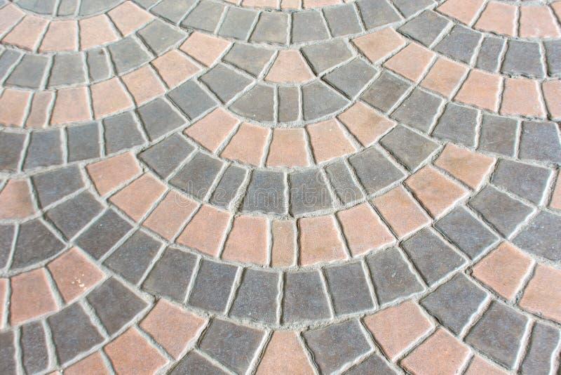 Brick paving blocks used as a background. Brick paving blocks used as a background , Nonthaburi royalty free stock photography