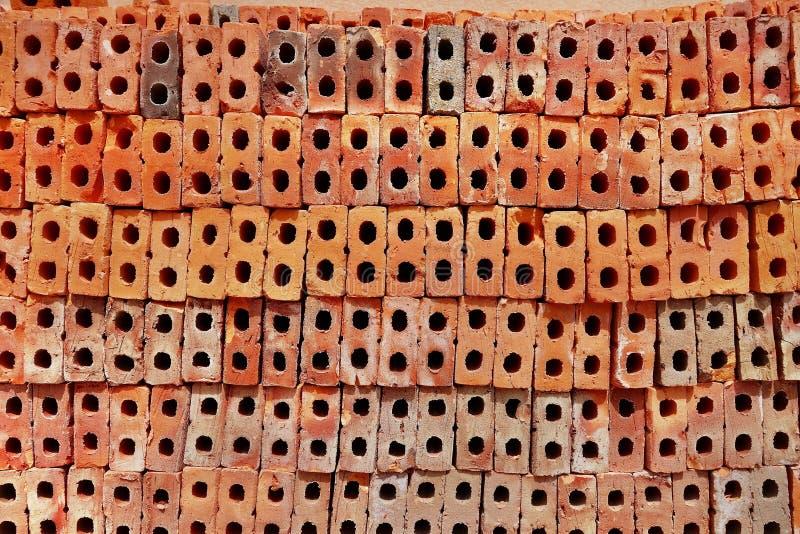 Brick pile royalty free stock photography