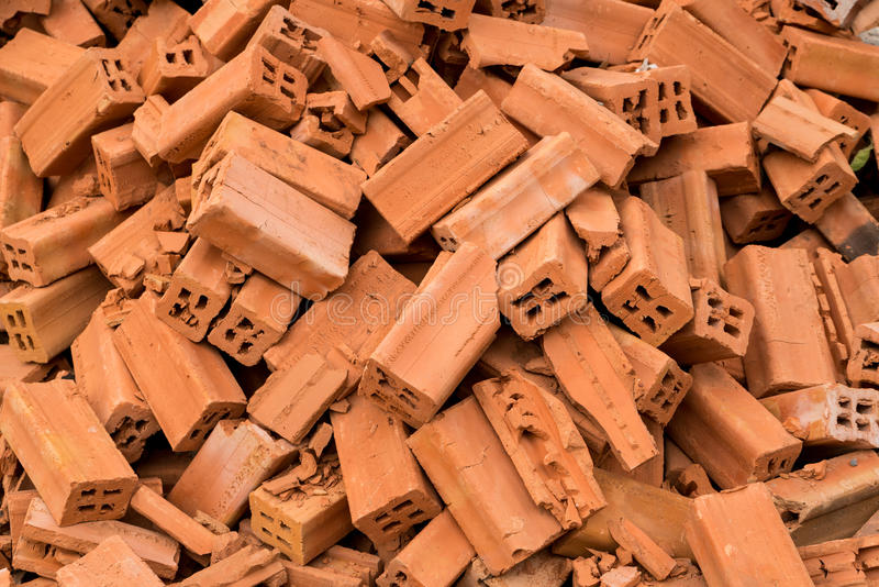 Brick Pile royalty free stock image