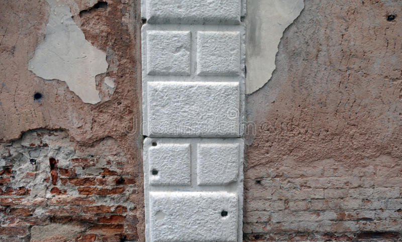 Brick with stone royalty free stock images