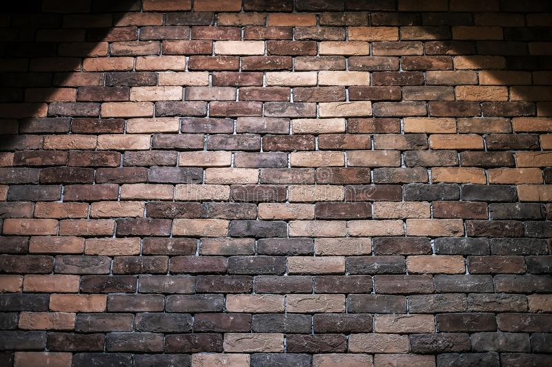 Brick texture background with light stock images