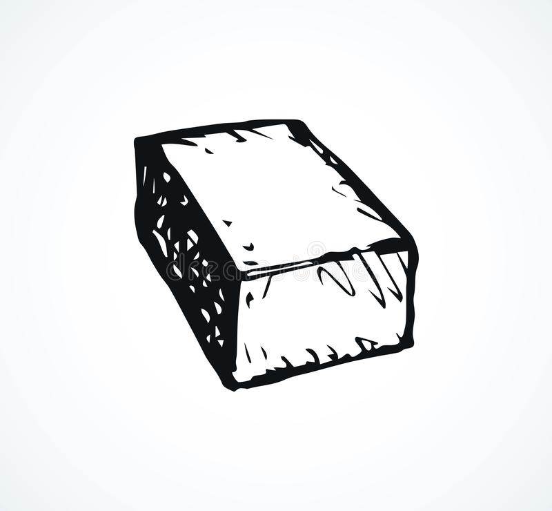 Free Brick. Vector Drawing Royalty Free Stock Photography - 144857797
