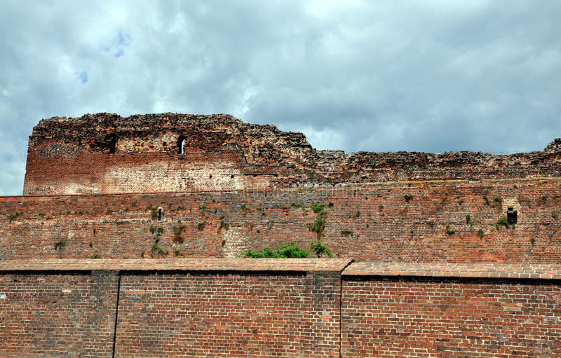 Download Brick wall stock image. Image of architecture, demage - 10290095