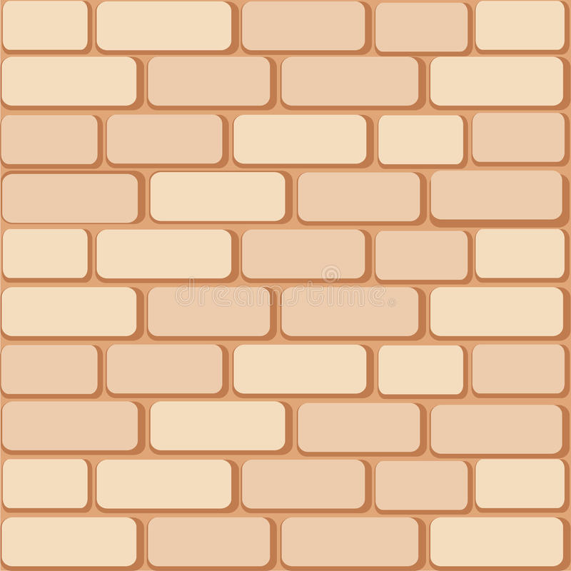 Download Brick wall stock vector. Image of rectangle, stone, part - 10758972
