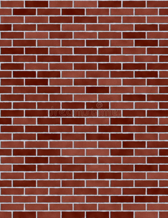 Brick wall. A brick wall texture stock photos