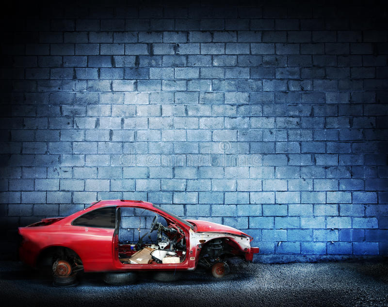 Download Brick wall stock image. Image of urban, industrial, wreck - 14534791