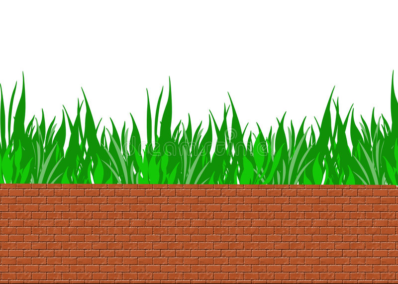 Download Brick wall stock illustration. Illustration of protective - 1713848