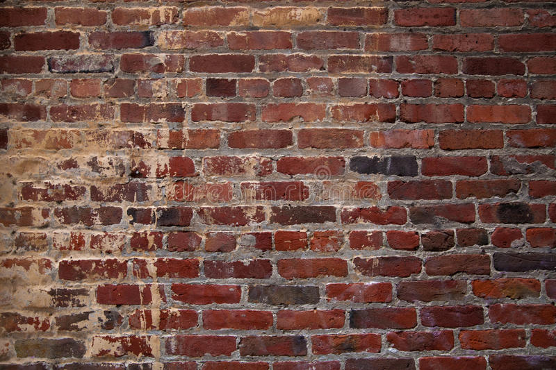 Brick wall. Abstract background with old brick wall