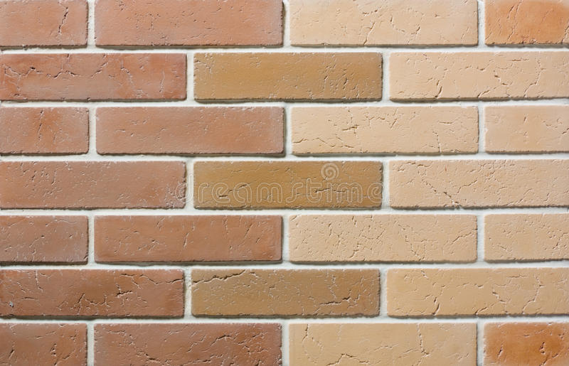 Brick Wall. View of the Brick wall for design background stock images