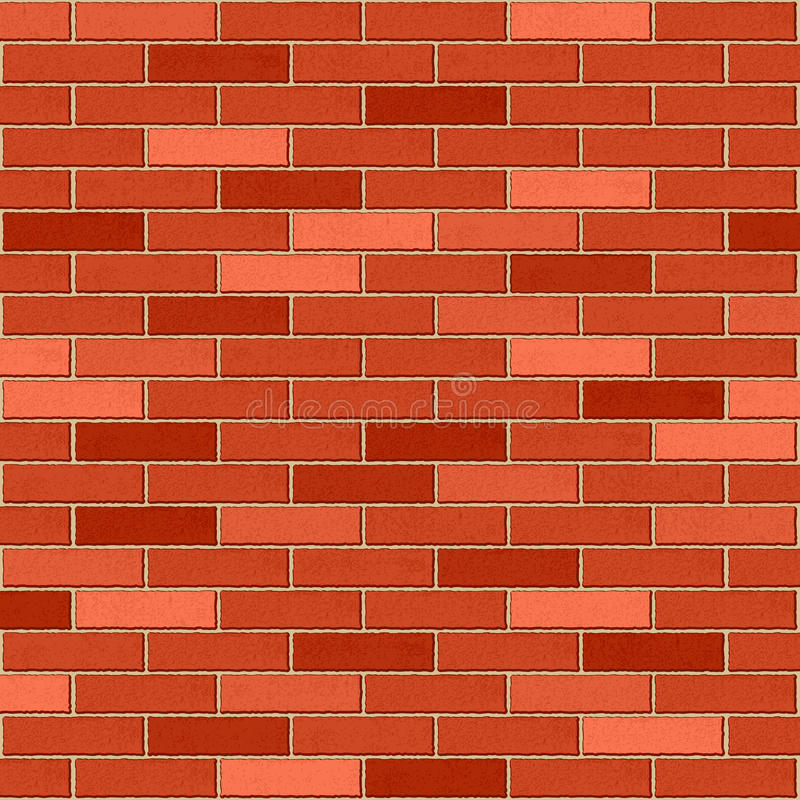 Download Brick wall stock vector. Image of vector, structure, texture - 25727419