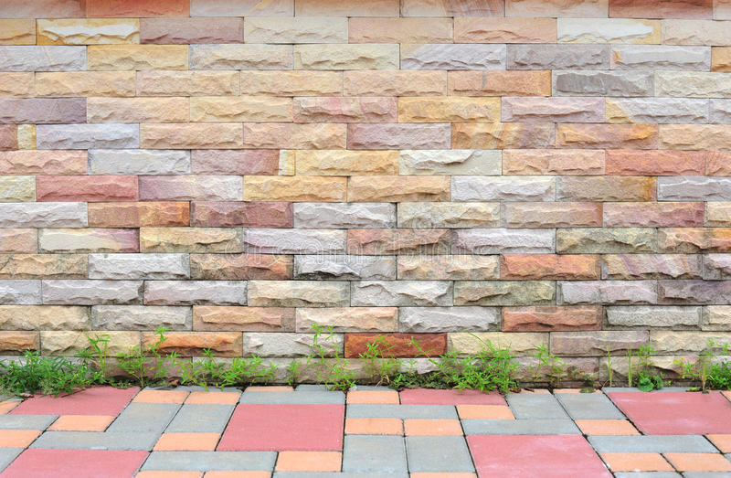 Download Brick wall stock image. Image of background, brick, life - 25787737