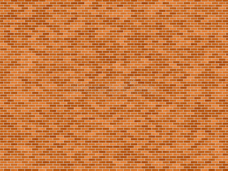 Brick wall royalty free illustration