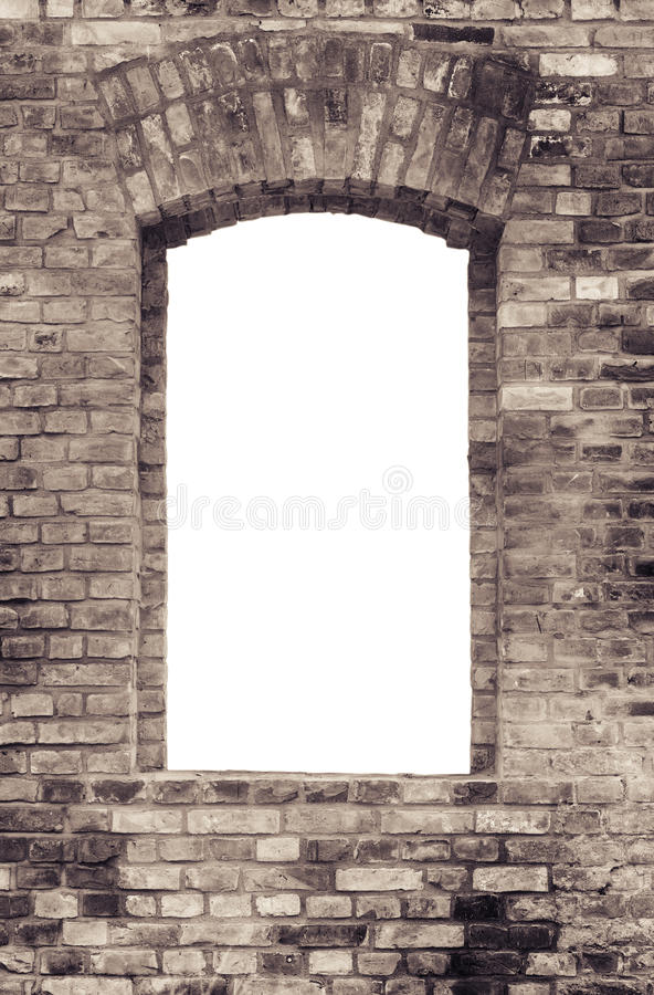 Free Brick Wall And Window Royalty Free Stock Photos - 10383458