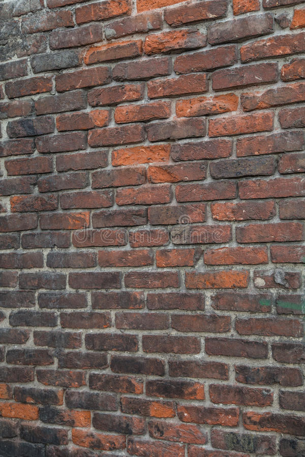 Brick wall. As a background royalty free stock photo
