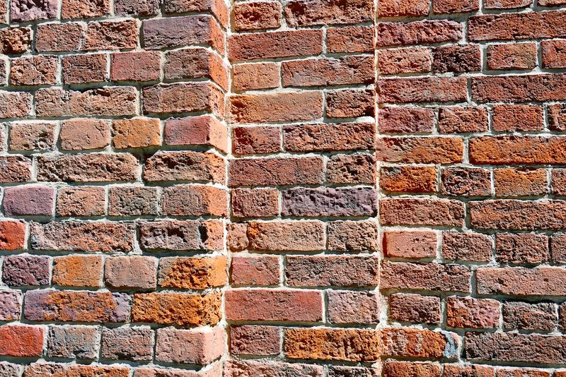 Brick wall as a background royalty free stock photography