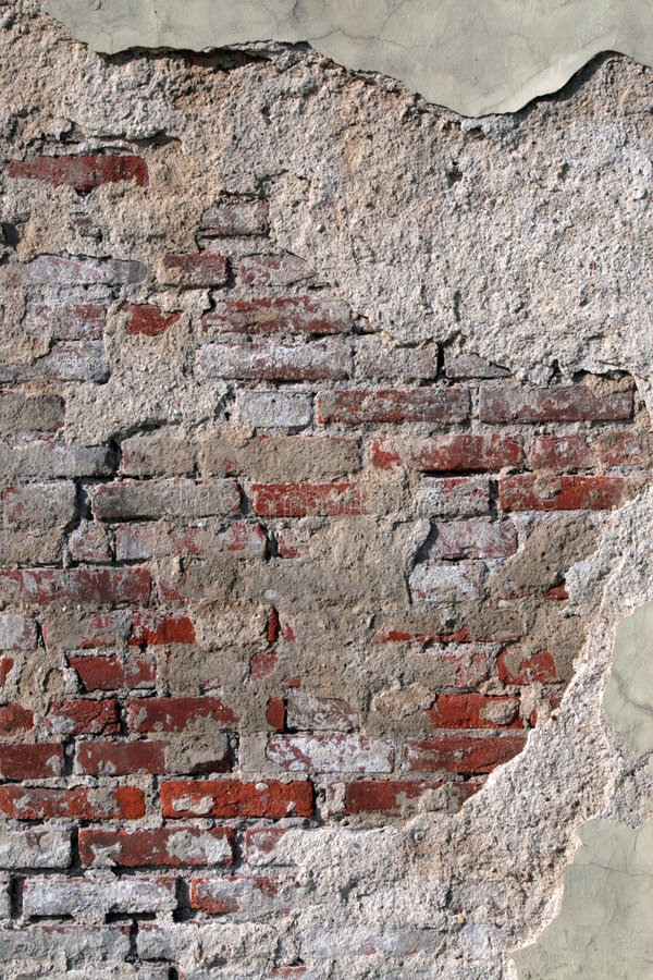 Brick wall for a background. royalty free stock photography