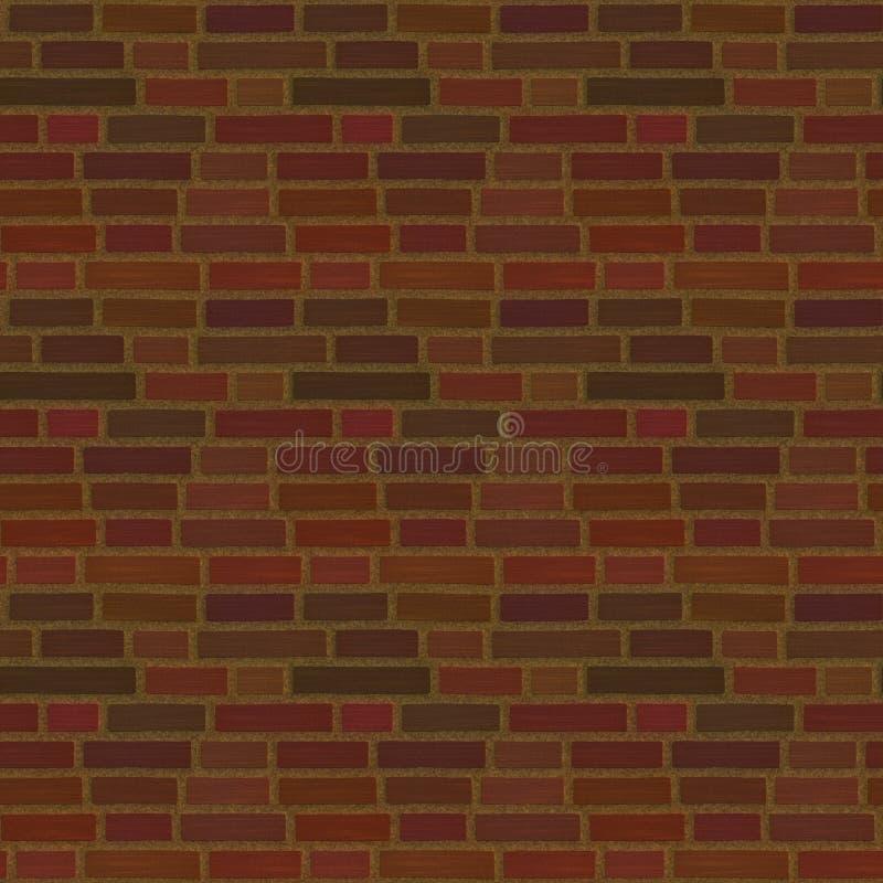 Brick wall background. Red brick wall background illustration stock illustration