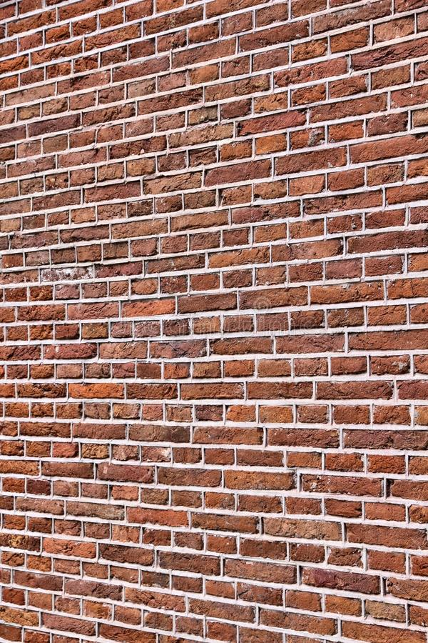 Brick wall background. Architectural texture from Amsterdam stock photo