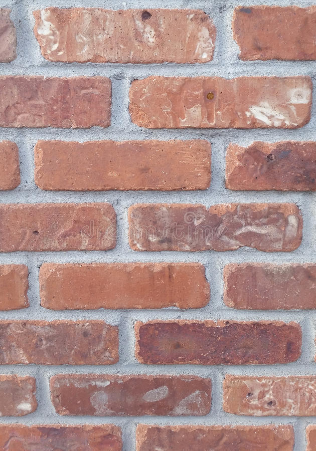 Brick Wall background clay solid image brown and gray. Brick Wall background clay solid image stock photos