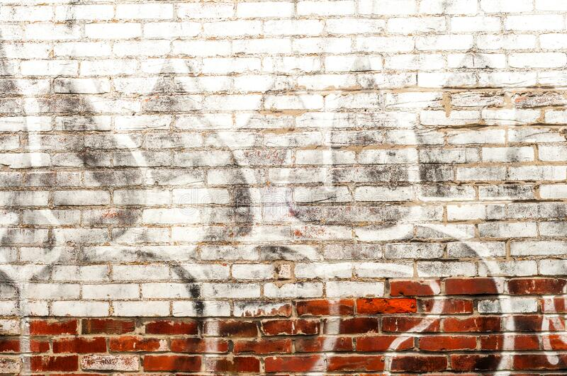 Old brick wall textured background royalty free stock photography