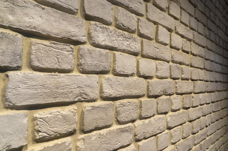 Brick wall background loft style design stock images