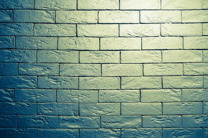 Brick wall. Background of old vintage brick wall. royalty free stock photo